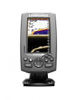Эхолот Lowrance Hook-4x Mid/High/DownScan 83/200+455/800